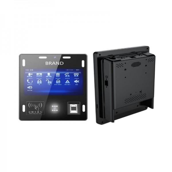 Highton Cheapest Factory 7 inch Windows bus validator with 4G network NFC Fingerprint bus ticket validator