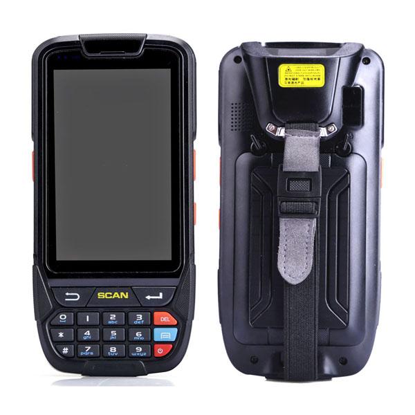 4 inch NFC UHF RFID Barcode scanner Rugg...