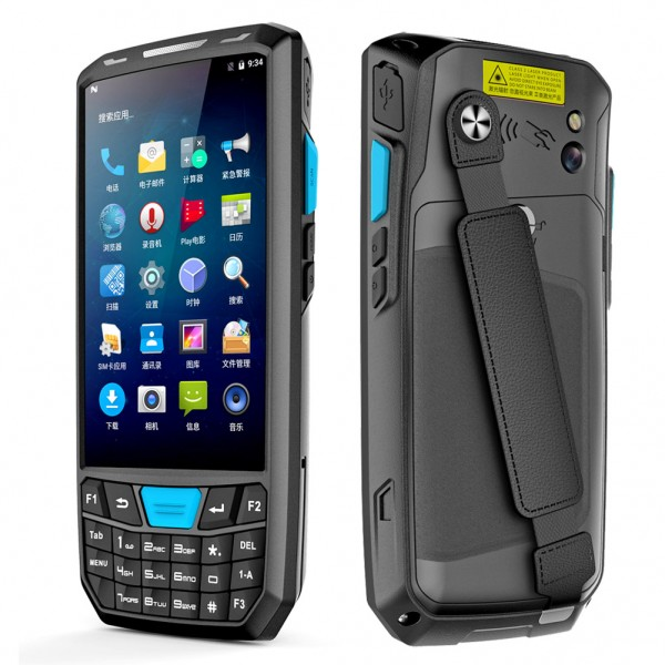 Highton 4.5 inch Android PDA handheld with Android 8.1 2G+16G 1D/2D/NFC Android barcode scanner handhelds PDA handhelds terminal