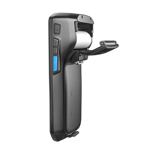 5 inch 1D barcode scanner thermal printer NFC PSAM Docking Mobile Computer