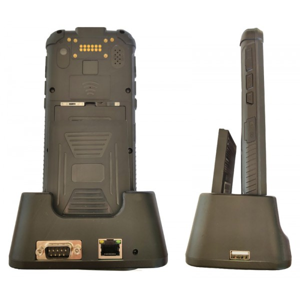 HiDON Factory 5.5 inch PDA handhelds terminal with 4G+64G Win10 PDA NFC 2D scanner UHF RFID Win10 Rugged handhelds PDA terminal