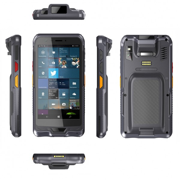 HiDON 5.98 inch HP609 Qualcomm MSM8909 Quad-core IP67 Android PDA handhelds with NFC 1D/2D Barcode Scanner handhelds PDA