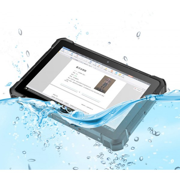HiDON 10.1 inch 1920*1200 win10 pro 6G+128G Windows rugged tablet with RJ45 RS232 2D barcode scanner fingerprint scanner waterproof tablet pc computer
