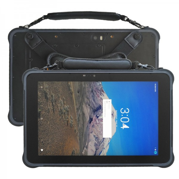 HiDON rugged tablet android 10.0 inch Octa-core waterproof tablet with RJ45 RS232 3G+32G NFC 2D barcode 10500mAh medical tablet pc computer