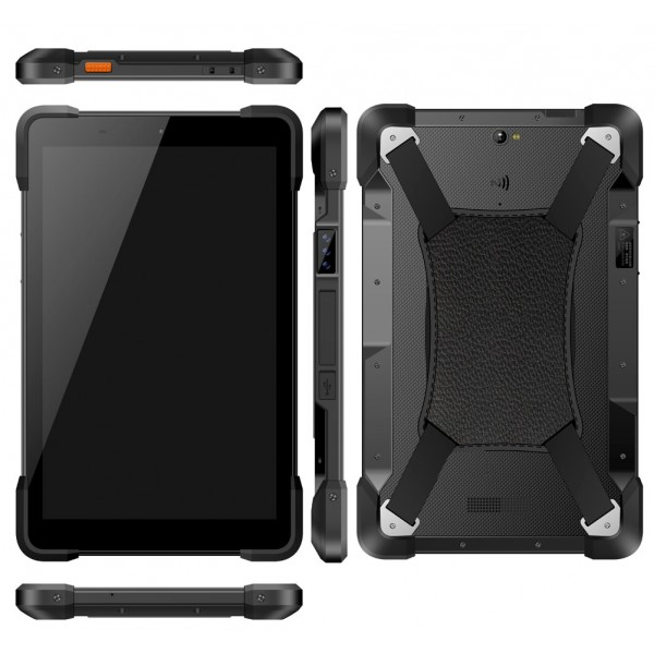 HiDON 10.1 inch Octa-core 2.0GHz 4G+32G Android 8.1 rugged tablets with NFC Fingerprint scanner waterproof tablet pc