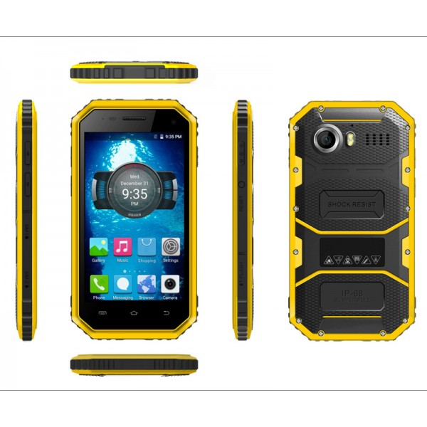 Cheapest 4.5 inch IP68 waterproof and du...