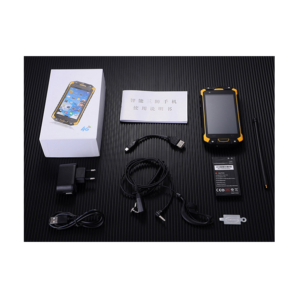 4.5'' octa core Walkie talkie PTT SOS 4GLTE rugged smartphone