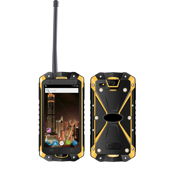4.5'' octa core Walkie talkie PTT SOS 4GLTE rugged smartphone