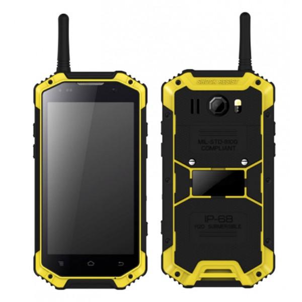 HiDON 4.7inch 4G Android robustes Telefon MT6757 4G + 64G robustes Smartphone mit GPS Beidou Glonass NFC wasserdichtes Telefon
