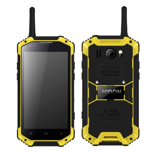 4.7 inch 4G NFC PTT Android rugged phone...