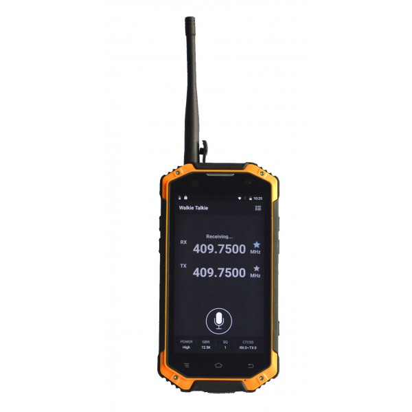 HiDON 4.7 inch MT6737 Quad-core Android rugged phone with 4G LTE NFC PTT SOS rugged mobile phone