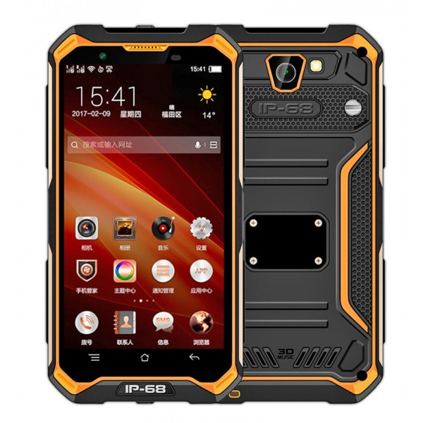 HiDON 5.0 inch 3G+32G 8M+13M camera Android rugged phone with PTT 4G LTE IP68 waterproof mobile phone
