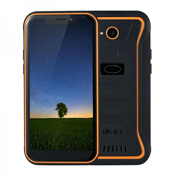 HiDON 5.5inch MT6739 Quad-core 4G Android rugged mobile phone with 2G+16G 4000mAh battery IP67 waterproof mobile phone