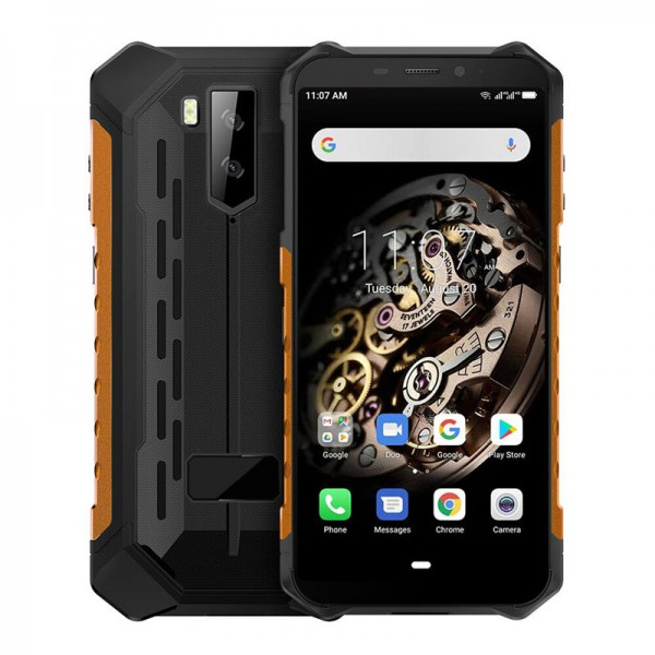 HiDON 5.5 inch Octa-core 3G+32G Android 10.0 rugged smartphone with NFC IP68 Android waterproof mobile phone