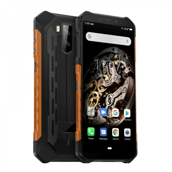 HiDON 5.5 inch Android 10.0 Octa-core rugged smartphone with 3G+32G NFC IP68 waterproof mobile phone