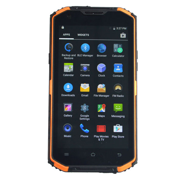 5.5 inch  4GLTE Android dual sim rugged smartphone shock proof