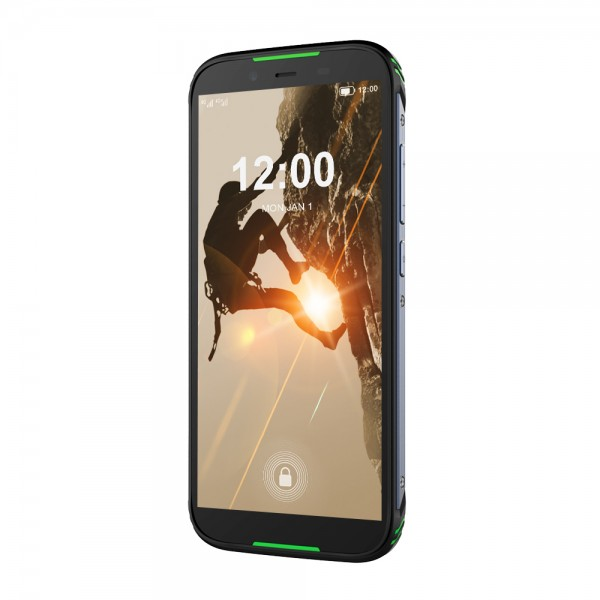 HiDON 5.5 inch Android 10.0 rugged smartphone with Fingerprint NFC SOS 4G LTE IP68 waterproof mobile phone