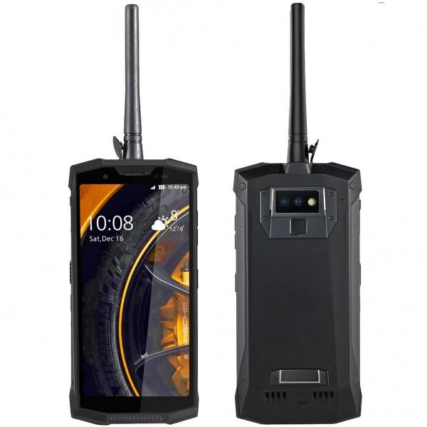 HiDON 5.99 inch DMR Digital walkie-talkie rugged phone with fingerprint PTT SOS NFC 10800mah battery waterproof smartphone