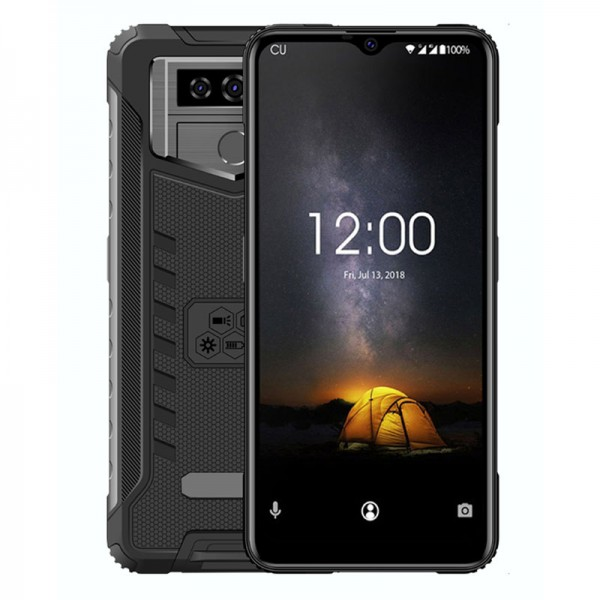 HiDON 6.53 inch 3G+32G Android 6.0 rugged phone with WIFI GPS Fingerprint waterproof smartphone