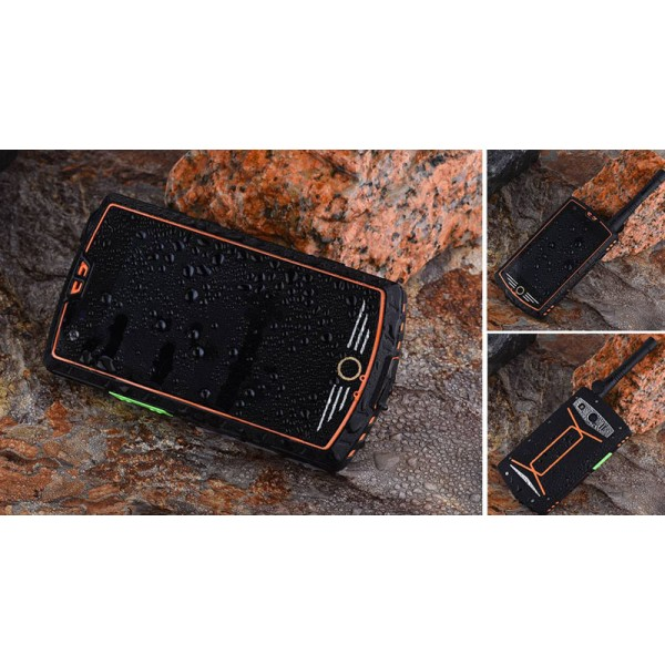 HiDON 4 inch octa-core rugged Digital walkie-talkie rugged smartphone DMR Smart phone with NFC DMR rugged mobile phone