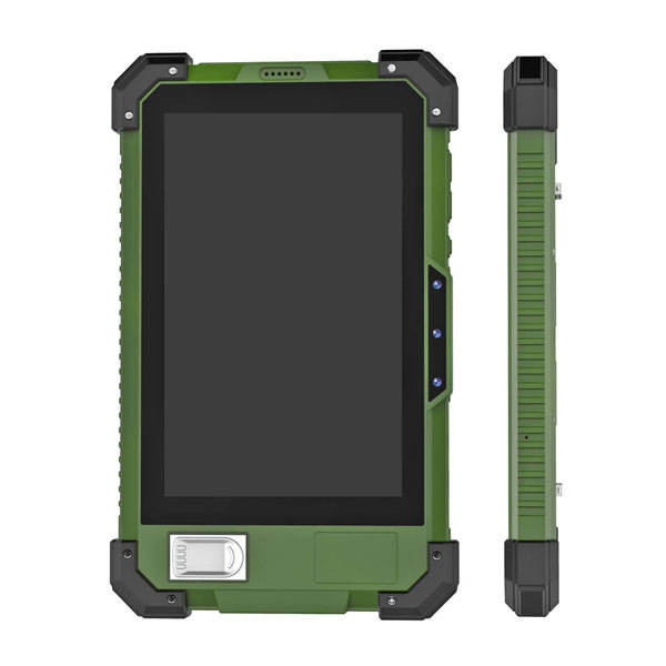 Front NFC Biometric 7 inch Android Rugged Tablet PC HR735