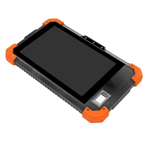 Cheapest 7''  front NFC reader fingerprint scanner shockproof Android tablet