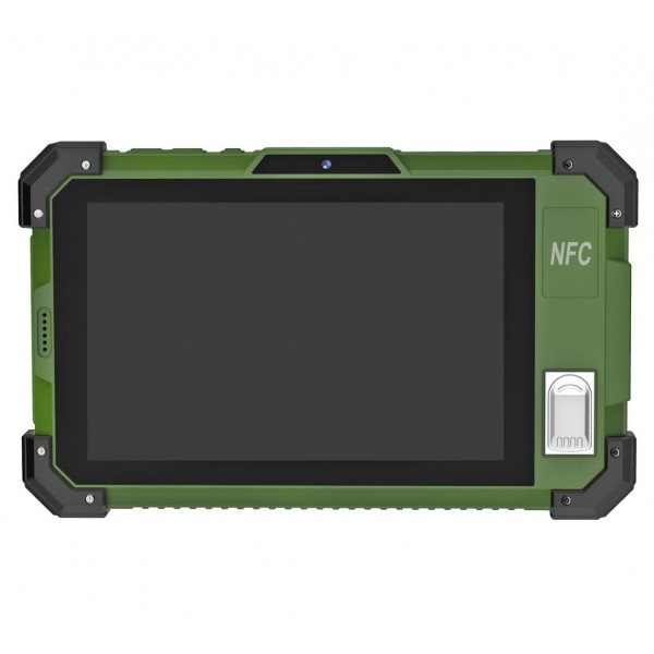 HiDON 7 inch IPS 1280*800 2G+32G Android rugged tablet with NFC 2D barcode fingerprint waterproof industrial tablet pc computer