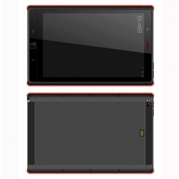 HiDON 8 inch Qualcomm MSM8939 Octa-core Rugged Tablets with IPS 1920*1200 4G NFC Fingerprint Scanner UHF RFID waterproof industrial tablet