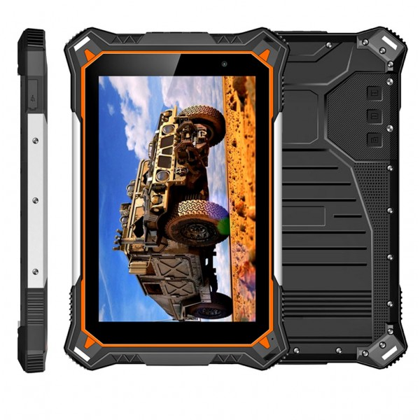 Highton 8inch 1920*1200 Pixels Octa-core Android 8.1 IP68 rugged tablets with 10000mAh Battery waterproof industrial tablet