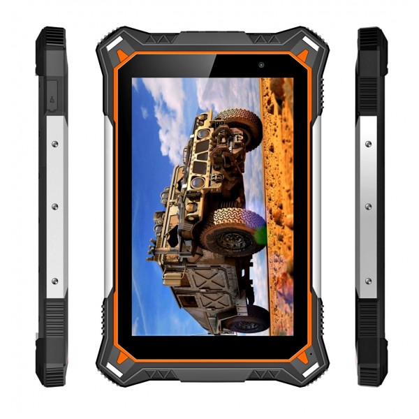 HiDON 8inch Deca-core 4G+64G 4G LTE Android rugged tablets with 10000mAh IP68 medical tablet pc computer