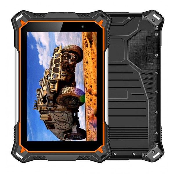 HiDON Factory 8 inch Octa-core Android rugged tablets with 4G+64G 10000mah battery IP68 waterproof rugged tablet