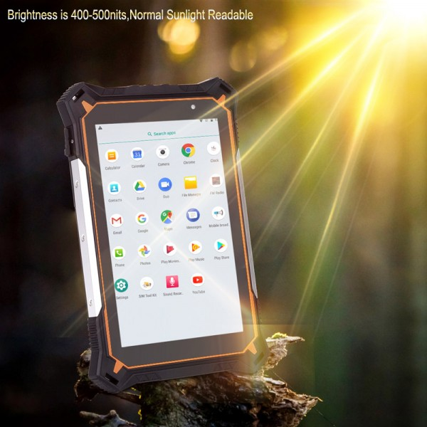 HiDON 8 inch 1920*1200 Octa-core 4G+64G Sunlight Stylus 10000mah Android IP68 Rugged Tablets Rugged tablet pc Computer