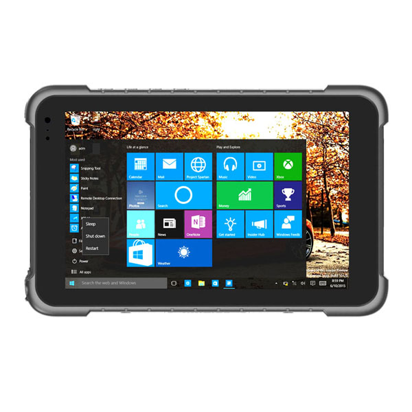 8'' Intel 4G+64G 4GLTE GPS HDMI Windows Rugged Tablet