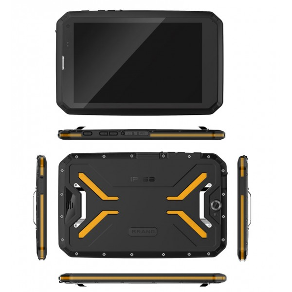 HiDON 8 inch MT6762 Octa-core 4G+64G 4G LTE Android rugged tablets with NFC Barcode UHF RFID IP68 waterproof tablet