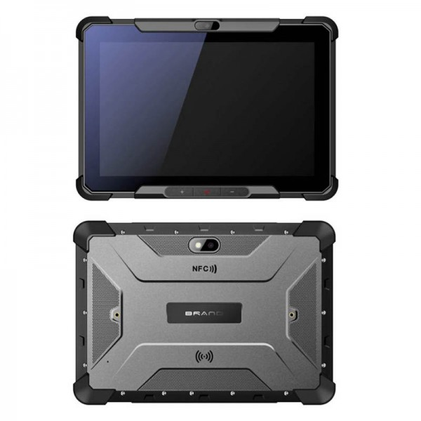 HiDON 8 inch MT6797 Deca-core Android rugged tablets with 4G+64G 4G10000mAh battery NFC Fingerprint waterproof tablet