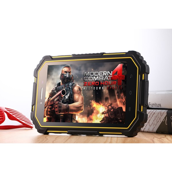 Cheapest 7 inch Android6.0 4GLTE NFC Rugged Tablet