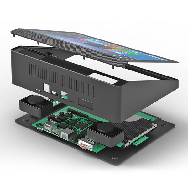 HiDON 10 inch Intel Windows10 2G+32G 1920*1200 touch screen fanless PC Mini PC